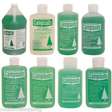 Camp Suds - Few Drops Gives Quick, Effective Suds, Biodegradable, USA Made