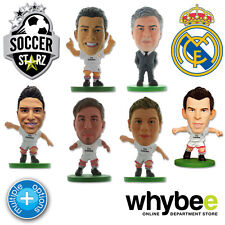 REAL MADRID CF SOCCERSTARZ FOOTBALL FIGURES - OFFICIAL LOS BLANCOS SOCCER STARZ