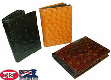 Leather Card Wallet 8 Card Capacity ID Window Gusset Pocket Photo Insert