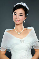 2015 New Wedding Dress Accessories Shrug Coat Bridal Shawl/Wraps White