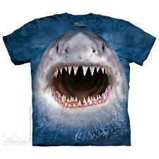 Wicked Nasty Shark Kids T-Shirt by The Mountain. Big Face Aquatic S-XL NEW