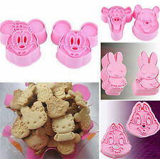 Cookie Fondant Craft Chocolate Decorating Plunger Cake Cute Animals Cutter Mold