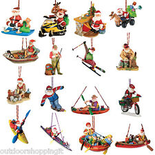 Outside Inside Santa Collection Decorations - Christmas, Recreational, Holiday