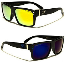Polarized Sport Wayfarer Style Fishing Driving Golf Sunglasses Color Mirror Lens