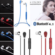 Stereo Wireless Bluetooth Earphone Headphone Headset for iPhone Phone PC Laptop