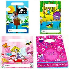 10 to 50 PARTY LOOT BAGS empty children boy girl Pirate Princess Animals Cakes H