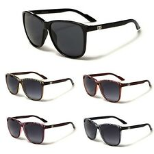 DG Men Women Retro Classic 80's Wayfarer Sunglasses Black Brown Khaki