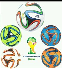 NEW ADIDAS OFFICIAL BRAZUCA MATCH BALL REPLICA FOOTBALL SIZE 5-SOCCERBALL