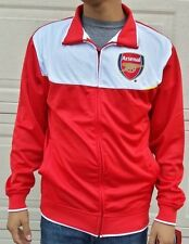 Arsenal FC Official Licensed Rhinox Red/Whte Soccer Full Zipper Track Jacket NWT