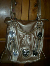 USED 2 MNTHS LADIES HANDBAGS: FOSSIL, KATHY VAN ZEELAND & GINO MILANT LOOK NICE