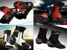 2015 Vente Chaude  Bottes Racing Bottes Street New Outdoor Sport Moto Chevalier