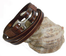 SB SAILOR WRISTBAND sb006-4 first class leather cuff bracelet