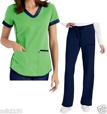 Greys Anatomy Scrubs maker present Stretch Fabric - NRG - Apple - Indigo
