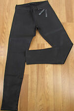 J Brand Jeans Juniors Black 485 Luxe Sateen Coated Mid Rise Skinny NEW (3843)