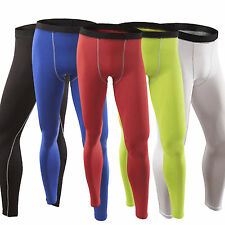Mens Compression Base Layer Tight Long Johns Under Skin Sport Gear Thermal Pants