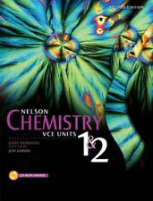 NEW Nelson Chemistry VCE Units 1 and 2 2e Student Book Plus Access Card for 4 Ye