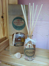 Handmade Reed Diffusers & Refills including Reeds 85ml  (Fragrances A to G)
