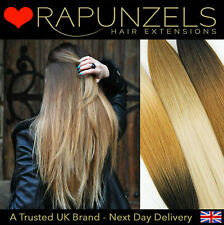 """20"""" Ombre, balayage, dip dye remy hair extensions weft 1ft, 2ft, 3ft, 6ft or 9ft"""