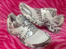 Asics GEL-Noosa Tri 8 Women's Running Shoes white/silver/metal 100% authentic