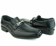 Rocus Men's Loafer Dress Slip Ons Shoes Black Casual Dressy Boat Classic Style
