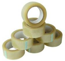 Heavy Duty Clear Sellotape Easy Tear Parcel Packing Tape - Various sizes