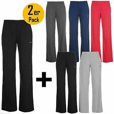 2er Pack  LA GEAR Jogginghose Damen Trainingshose Fitness Hose Sweathose Yoga