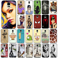 Fashion Pattern Protector Phone Hard Skin Case Cover For Samsung Galaxy S4 S5