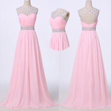NEW YEAR SALE! Sexy Backless Long Maxi Gowns Evening Prom Party Bridesmaid Dress