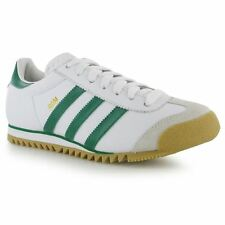 Adidas Originals Rom White / Green Trainers BRAND NEW BOXED