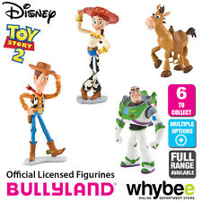 Official Bullyland Disney Toy Story Figurines - 6 Cake Topper Figures to Collect