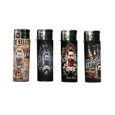 UNIQUE ASSORTED NED KELLY DESIGN LIGHTERS COLLECTABLE ITEM CIGARETTE CIGAR