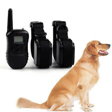 Rechargeable LCD Electric Shock E-Collar Dog Training Remote Control Anti-Bark
