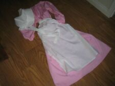 Colonial Girls and American Girl Doll Dress matching set Colonial Costume