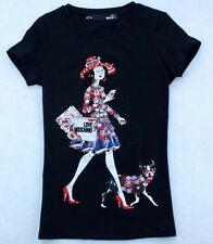 NWT 19896 Lady's luxury dresses Oliver Shopping with dog moschino T-shirt/Top