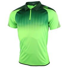 MENS ADIDAS SONGA CLIMACOOL ADIZERO TENNIS GOLF POLO T TEE SHIRT M33610 $29.95
