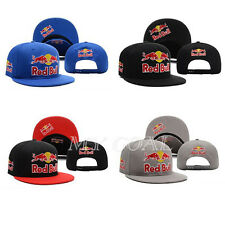 Unisex Red Bull Baseball Cap Adjustable Snapback Bboy Sport Hip-Hop Dance Hat