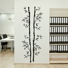 CHINESE BAMBOO TREE VINYL WALL ART DECAL STICKER huge removable vinyl uk TR10