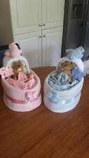 Baby Crib Nappy Cake, Boy, Girl, Neutral, Baby Gift, Baby Shower