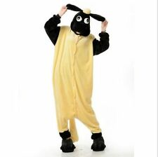 Hot sale Unisex Adult Kigurumi Animal Fancy Dress cosplay Costume Pajama sheep