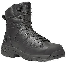 "Men's Timberland PRO Helix 8"" Work Boots Comp Safety Toe WP Leather (D,M) 87568"
