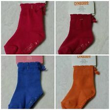 NWT Gymboree Basic Infant Toddler Girls Socks Choice Gripper Bow LOT