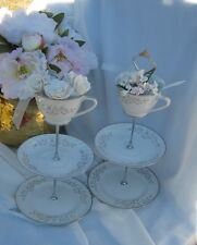 3 TIER CAKE STAND SERVING TRAY CUP PLATE WEDDING PARTY CHINA OF JAPAN