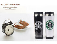 2014 Starbucks stainless steel coffee tumbler cup Thermos Travel Mug stainless