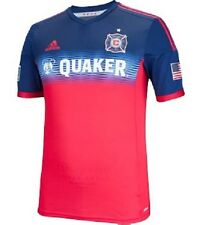 Chicago Fire Jersey - 2014/2015 Red Adidas ClimaCool New