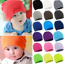 Born Cute Baby Boy/Girl Unisex Cotton Beanie Hat Soft Toddler Infant Cap Topsale