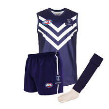 Official AFL Footy Fremantle Dockers Kids Auskick Jumper Guernsey Shorts socks