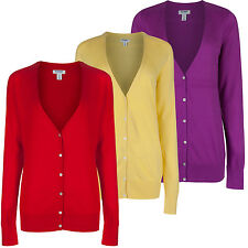Old Navy (GAP) Womens V Neck Fine Knit Pure Cotton Cardigan New Soft Cardie Top