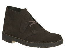 Clarks Originals Mens Desert Boot Brown Lace Up Suede Boot