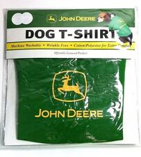 FREE GIFT New JOHN DEERE OFFICIALLY LICENSED Dog Shirt Pet Clothes Farm Clothes