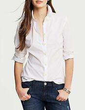 NWT Banana Republic New $59.50 Fitted Non-Iron Textured Shirt Size 8, 10, 12, 14